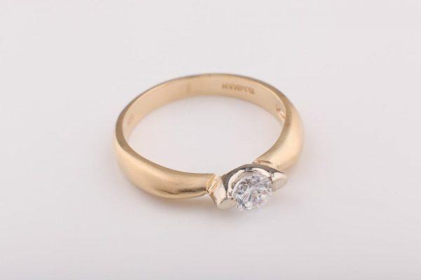 Matt szoliter gyűrű